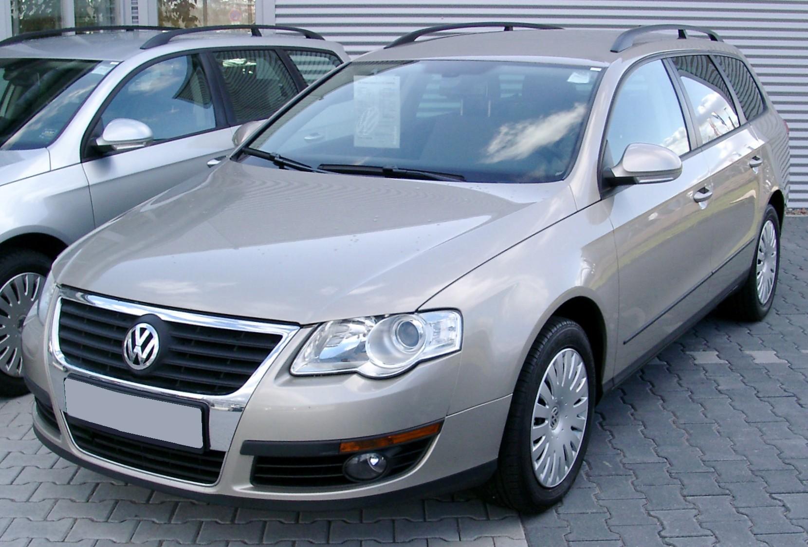 Автомобиль VW Passat B6