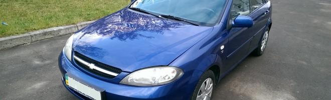Автомобиль Chevrolet Lachetti