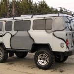 Автомобиль УАЗ с тюнингом