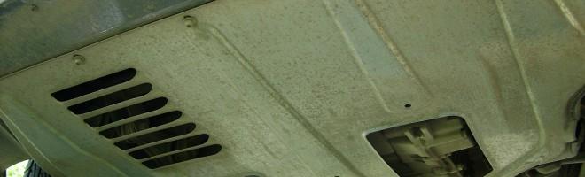 Защита двигателя для Приоры