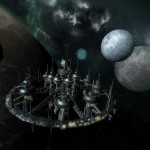 Буровая установка из игры Terran Conflict