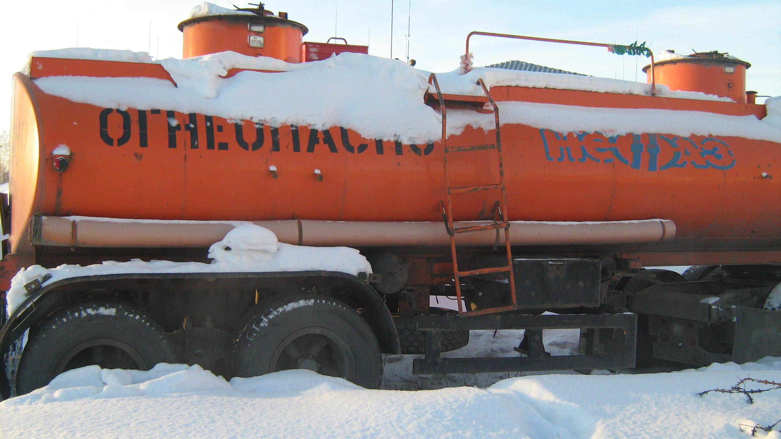 Цистерна-полуприцеп НефАЗ-96741-10