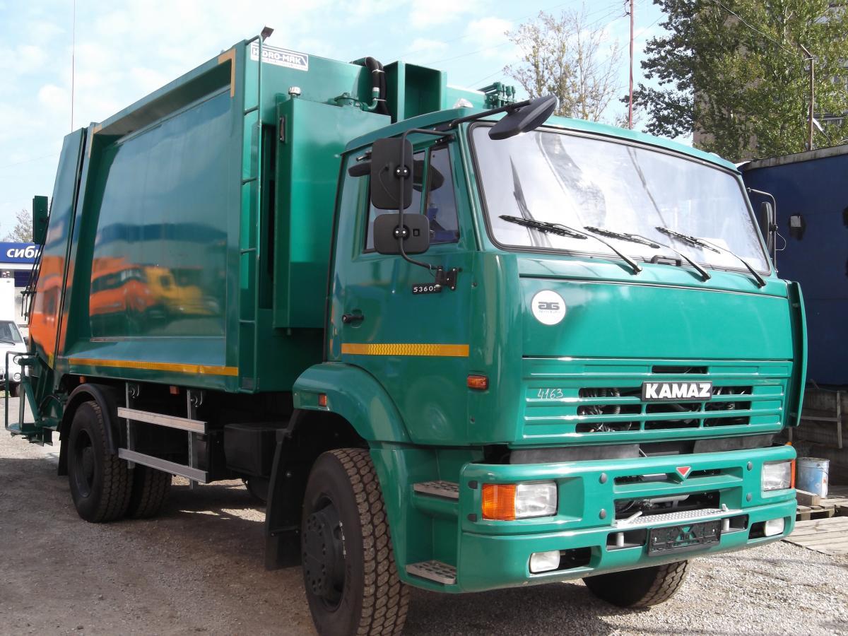 Мусоровоз КамАЗ-53605