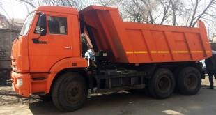 Самосвал КамАЗ 15 тонн