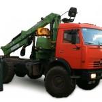Лесовоз КамАЗ-4310