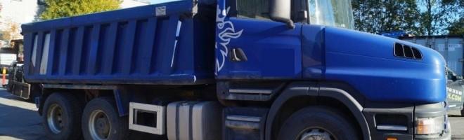 Cамосвал Scania T124