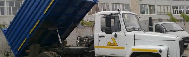 Cамосвал ГАЗ-3309