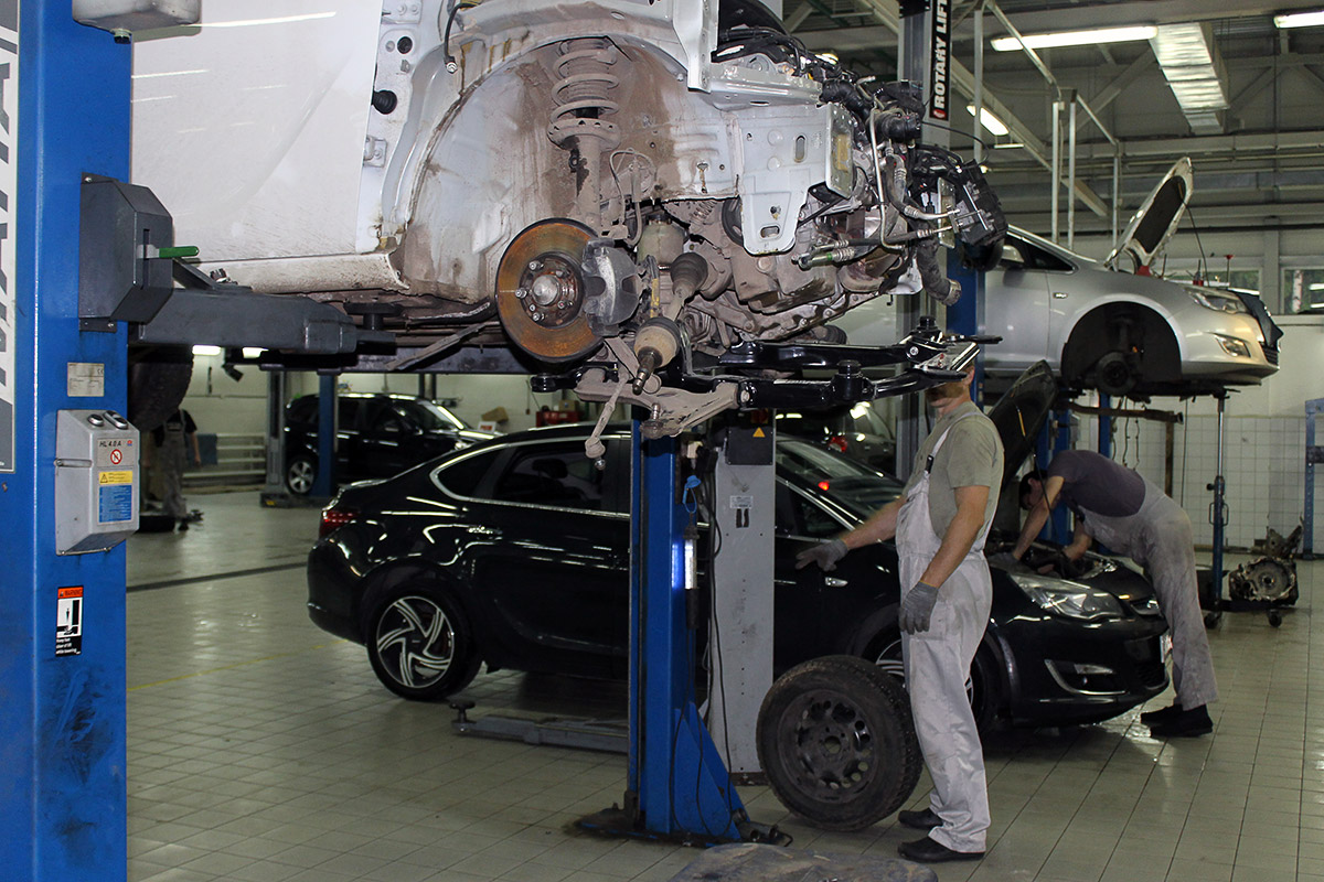 Хороший автосервис Volkswagen в Москве