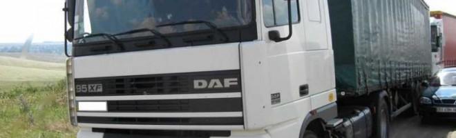 Описание кабин и б/у двигателей для грузовика DAF XF 95