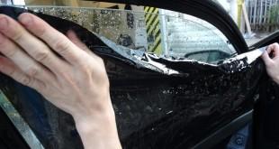 Как сделать съемную тонировку стекол вашего автомобиля?