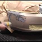 Как провести покраску пластикового бампера своими руками?