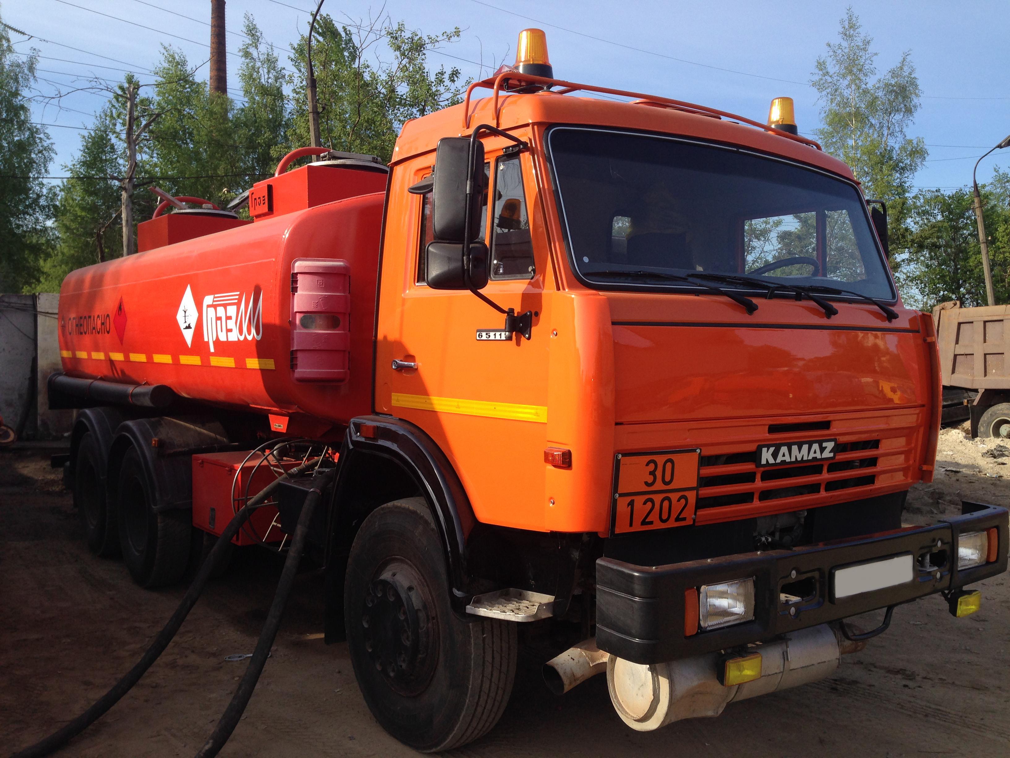 Где в Москве купить бензовозы КамАЗ?