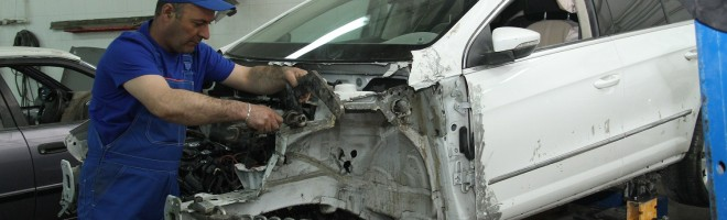 Что подразумевает под собой кузовной ремонт KIA?