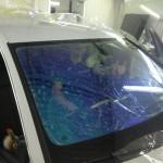 Съемная тонировка на лобовые, передние стекла автомобиля