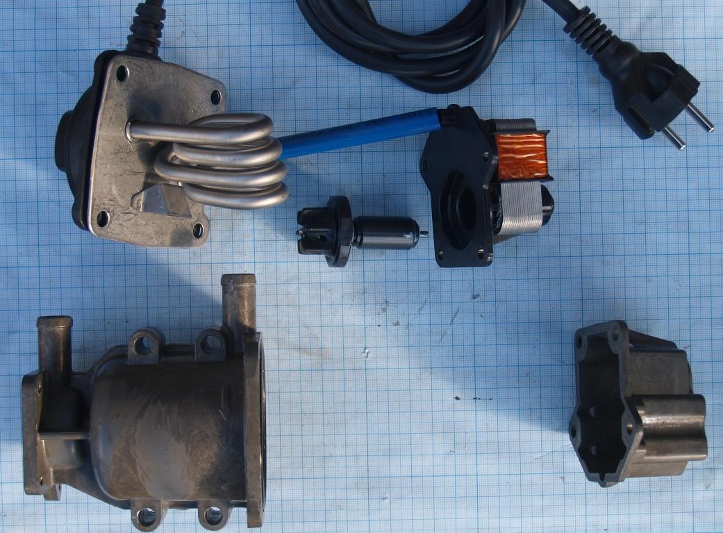 Предпусковой электрический подогреватель двигателя на автомобиль