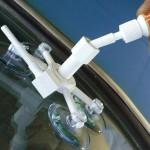 Как происходит ремонт сколов на лобовом стекле автомобиля?