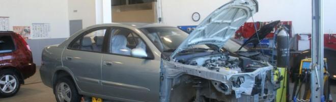 Kузовной ремонт автомобилей Nissan