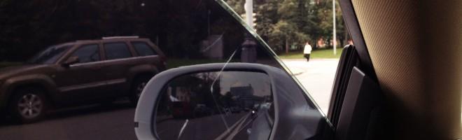 Как правильно удалить тонировку со стекла?