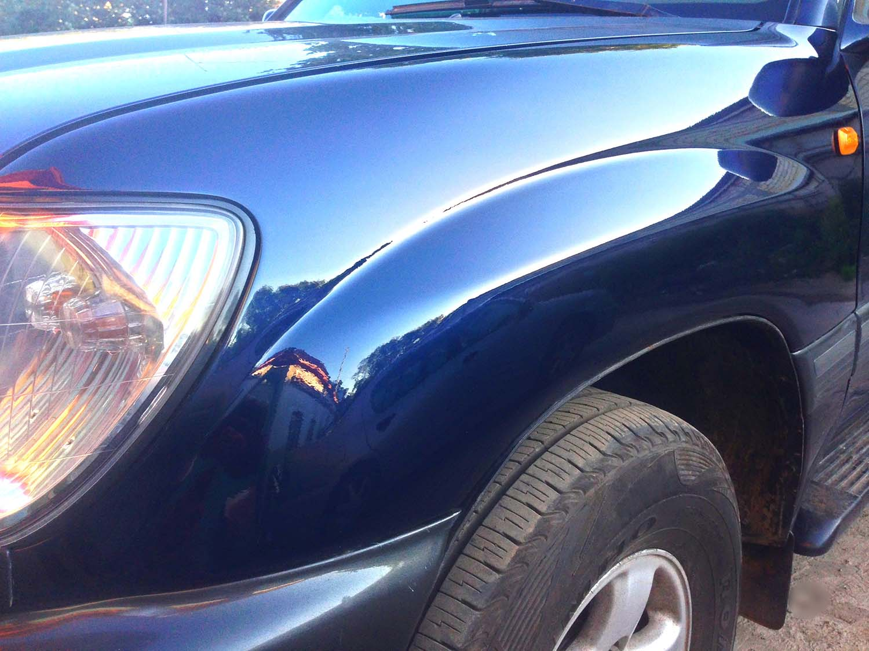 Цены на покраску одной детали кузова автомобиля