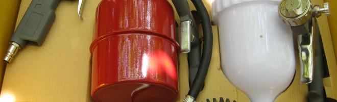 Цены на покупку краскопультов для покраски автомобиля на модели от ведущих производителей