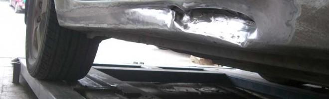 Кузовной ремонт порога