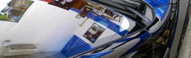 Полировка кузова автомобиля жидким стеклом
