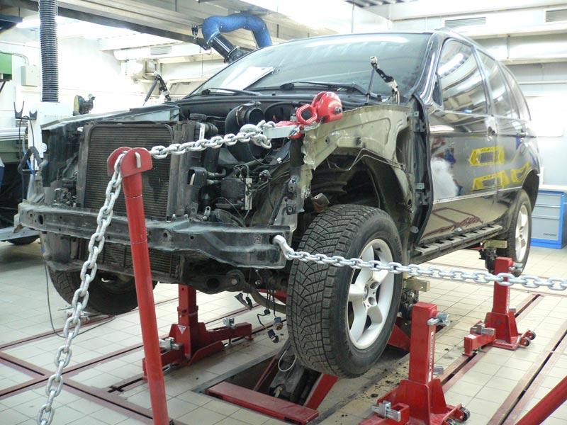 Как производятся кузовные работы при ремонте автомобиля?