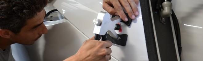 Присоска — оборудование для вакуумного удаления вмятин без покраски автомобиля