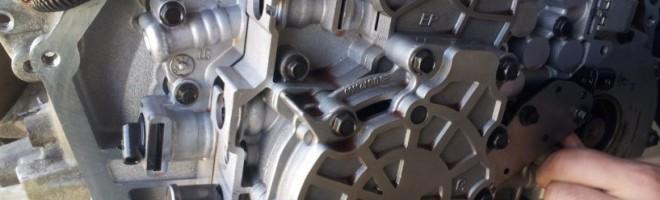 Технология ремонта акпп Volkswagen