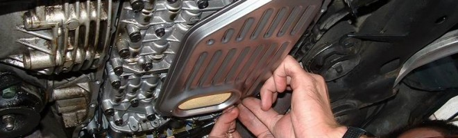 Полная и частичная замена масла акпп Audi A6